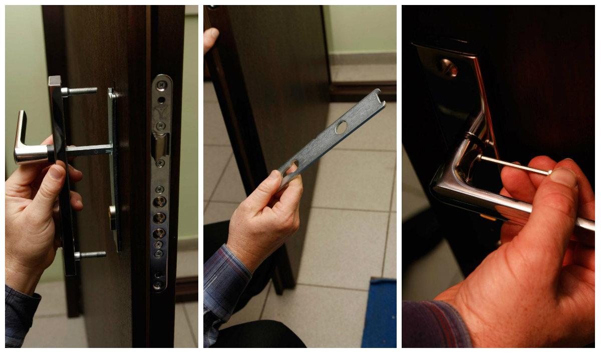 Замена замков в металлической двери: Специфика